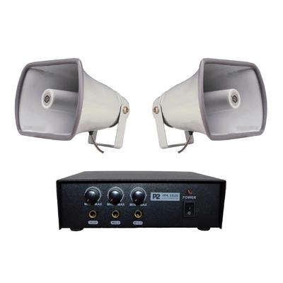 Zestaw nagłaśniający do samochodu reklamowego (JPA 1025 + 2x SC 25P)