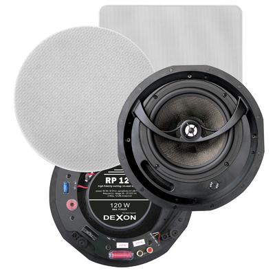Głośniki WiFi dwudrożne - zestaw 2x RP 124 + JPM 2022WI