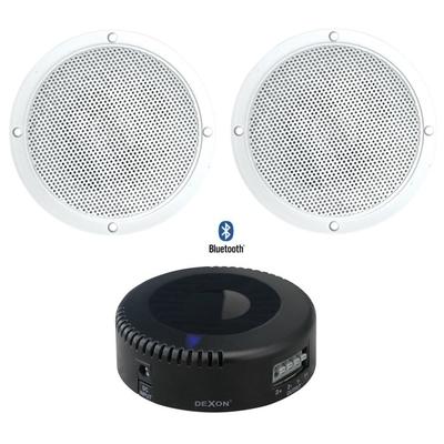 Głośniki wodoodporne Bluetooth - zestaw 2 x RP 81 + JPM 2021