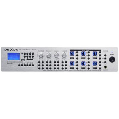 JPA 6120 - centrala 6-strefowa z matrycą (MP3, Bluetooth, WiFi)
