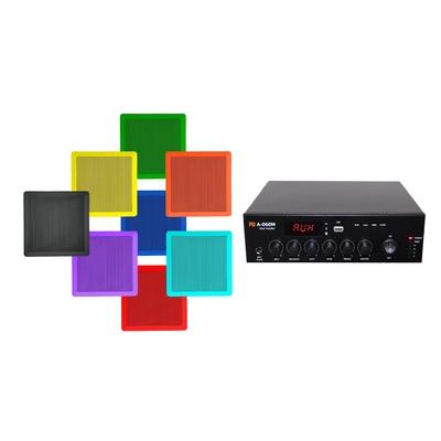 Zestaw nagłaśniający A-060M + RPT 80x80 x2-6 dowolny kolor RAL
