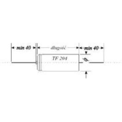 1 uF - kondensator elektrolityczny - WYPRZEDAŻ