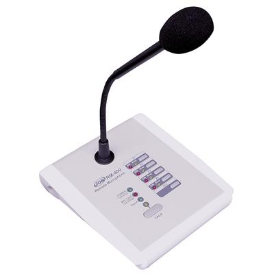 Mikrofon strefowy z wyborem stref i monitorowaniem RM 400