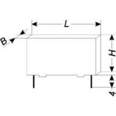 100 uF - kondensator foliowy  - WYPRZEDAŻ
