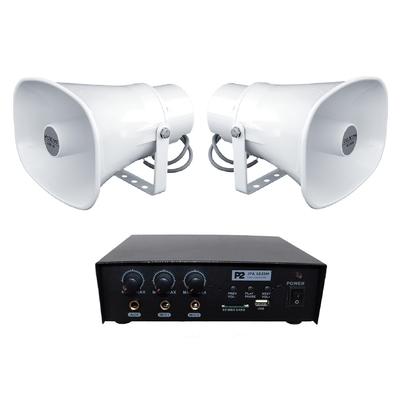 Zestaw nagłaśniający do samochodu reklamowego (JPA 1025M + 2x SC 20AH)