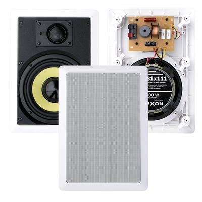 Głośniki WiFi dwudrożne - zestaw 2x RP 81x111 + JPM 2022WI