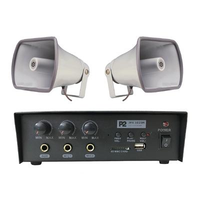 Zestaw nagłaśniający do samochodu reklamowego (JPA 1025M + 2x SC 25P)