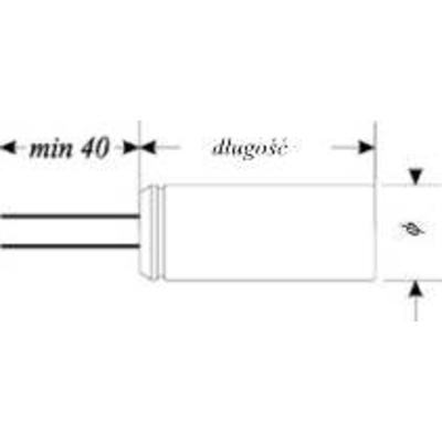 1,8 uF - kondensator elektrolityczny - WYPRZEDAŻ
