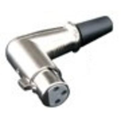 Gniazdo kątowe XLR na kabel L