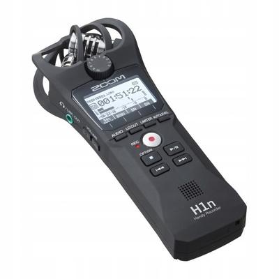 Rejestrator/odtwarzacz na kartę microSD ZOOM H1n
