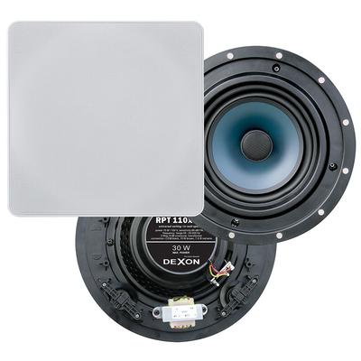 Głośnik sufitowy dwudrożny z transformatorem RPT 110x110