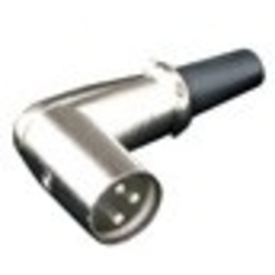 Wtyczka kątowa XLR na kabel L