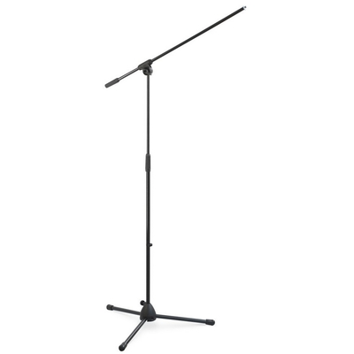 Statyw mikrofonowy podłogowy z wysięgnikiem