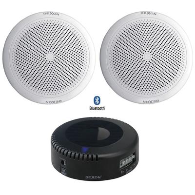 Głośniki wodoodporne Bluetooth - zestaw 2 x RP 84 + JPM 2021