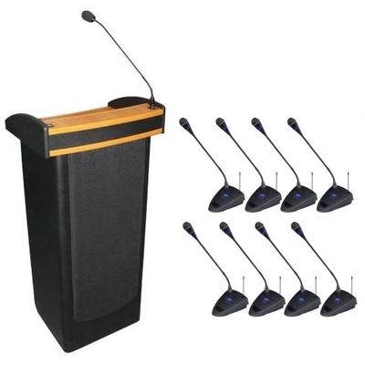Mównica z systemem konferencyjnym
