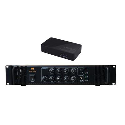 Wzmacniacz jednostrefowy + moduł ze źródłami dźwięku JPA 1060 + JWS11