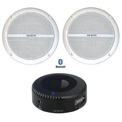 Głośniki wodoodporne Bluetooth - zestaw 2 x RP 82 + JPM 2021