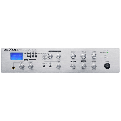 Wzmacniacz 3-strefowy z MP3 - USB/SD, tunerem, Bluetooth i WiFi JPA 1186