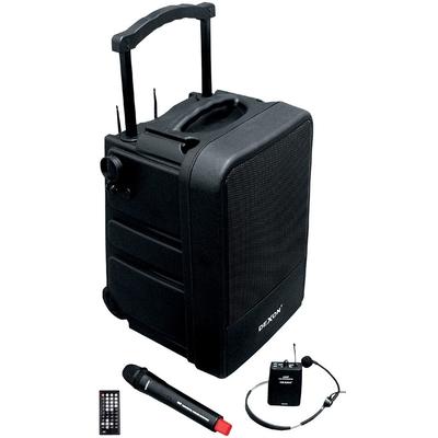 Przenośny system audio z mikrofonem do ręki i nagłownym WA 450RC