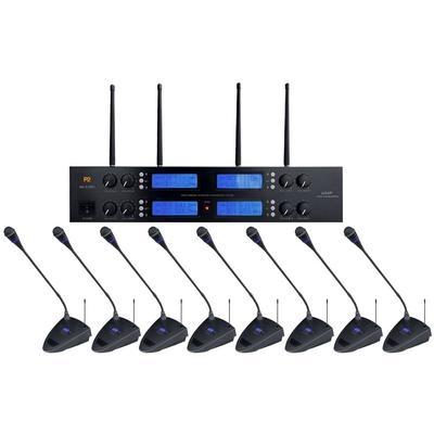 Bezprzewodowy system konferencyjny z mikrofonami pulpitowymi WA 510RC