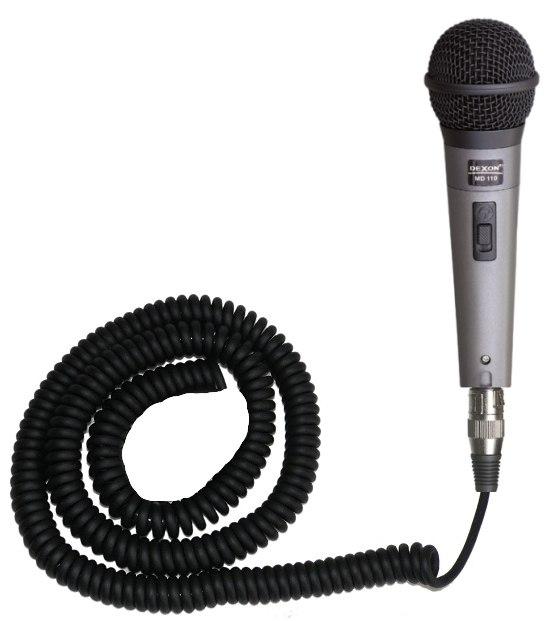 Md 110 Mikrofon Dynamiczny Z Przewodem Spiralnym Do Autobusów Gotowe Rozwiązania Archiwum Dexon Poland